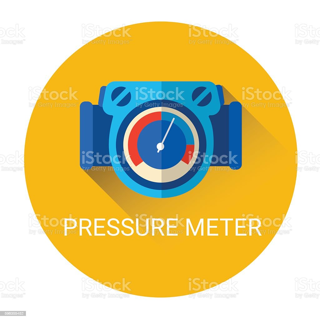 Pressure Meter Icon royalty-free pressure meter icon stock vector art & more images of backgrounds