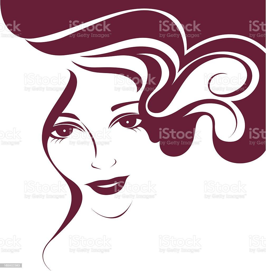Pretty eyes. royalty-free stock vector art
