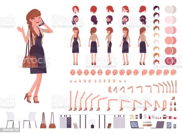Pretty female office employee character creation set vector id936396782?b=1&k=6&m=936396782&s=612x612&h=euvwgz4  udnion st7hzesrfwxf lhc8gvrkqhsdjk=