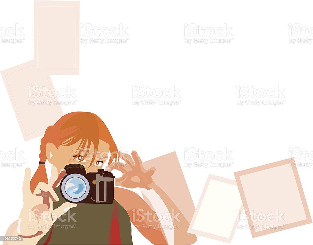 pretty photogrepher royalty-free pretty photogrepher stock vector art & more images of abstract