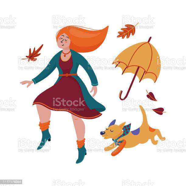 Pretty young redhaired woman in dress cardigan and boots dancing with vector id1177176354?b=1&k=6&m=1177176354&s=612x612&h=5xnppmwrbq0ud0psgn2qjdejug63x a8vkahadiaihe=