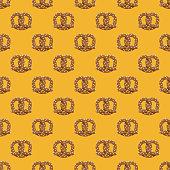 istock Pretzel Bread Pattern 1306013924