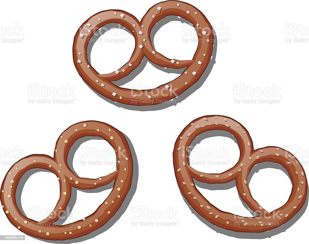 Pretzels royalty-free pretzels stock vector art & more images of baked