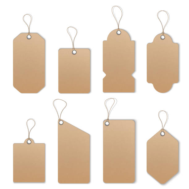 Price or Sale tags and labels vector template set vector art illustration