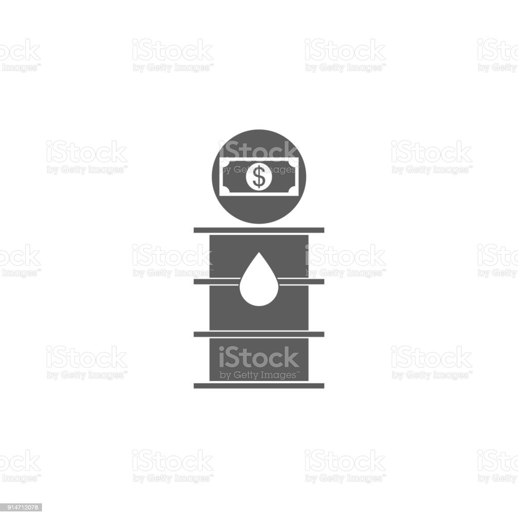 Price Per Barrel Of Oil Icon Element Of Oil And Gas Icon Premium