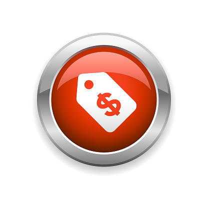 Price Tag Glossy Icon