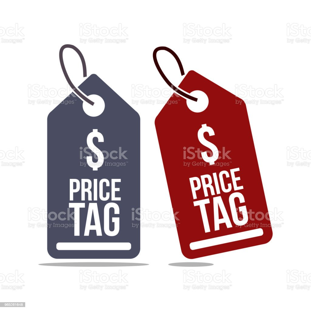 Price Tag Set Vector Template Design royalty-free price tag set vector template design stock vector art & more images of banner - sign