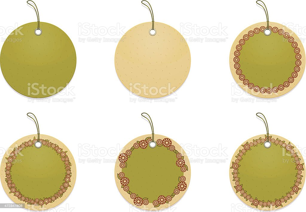 Price tags/labels. royalty-free stock vector art