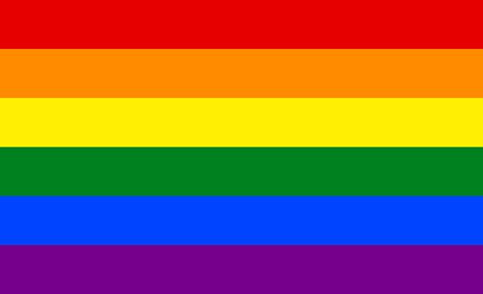 LGBT pride Colorful flag background banner vector