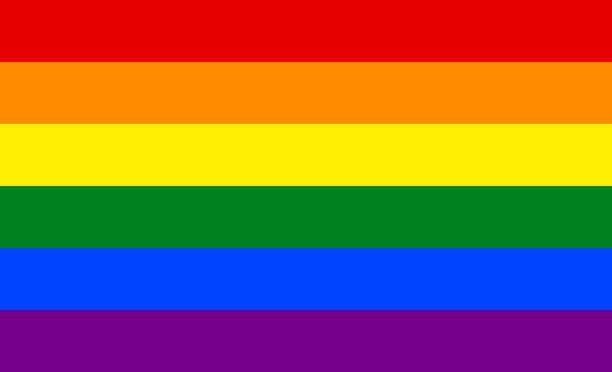 LGBT pride Colorful flag background banner vector vector art illustration