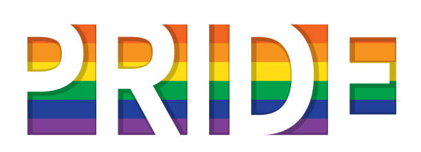 Pride LGBT banner vector. vector art illustration