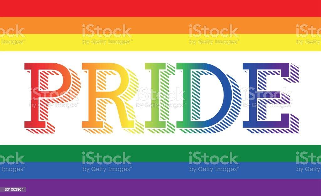 pride - LGBT vector art illustration
