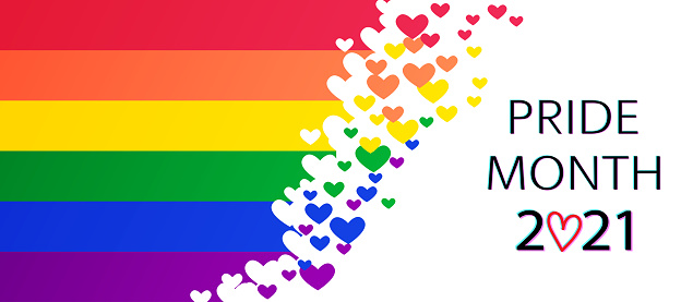 LGBT Pride Month 2021 vector concept.