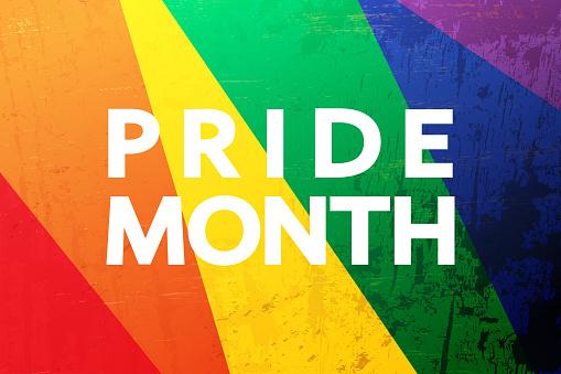 LGBT Pride Month banner, concept design.