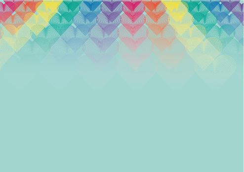 Pride month. Simbol of love
