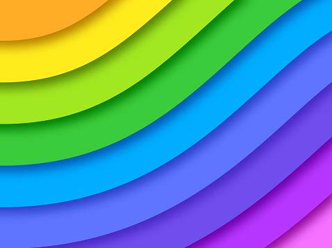 Pride Rainbow Background