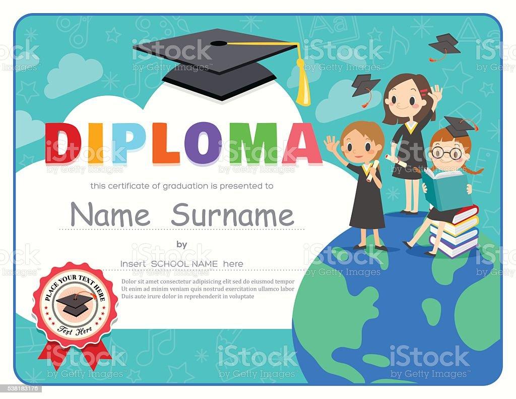 Graduation Diploma Template from media.istockphoto.com