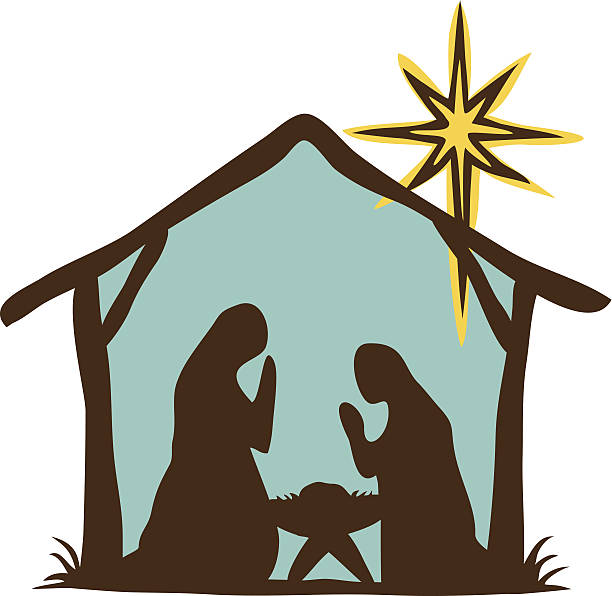 Best Nativity Silhouette Illustrations, Royalty-Free ...