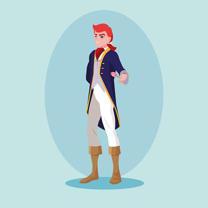 prince of fairytale avatar character