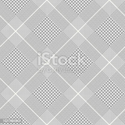 All over fabric texture print