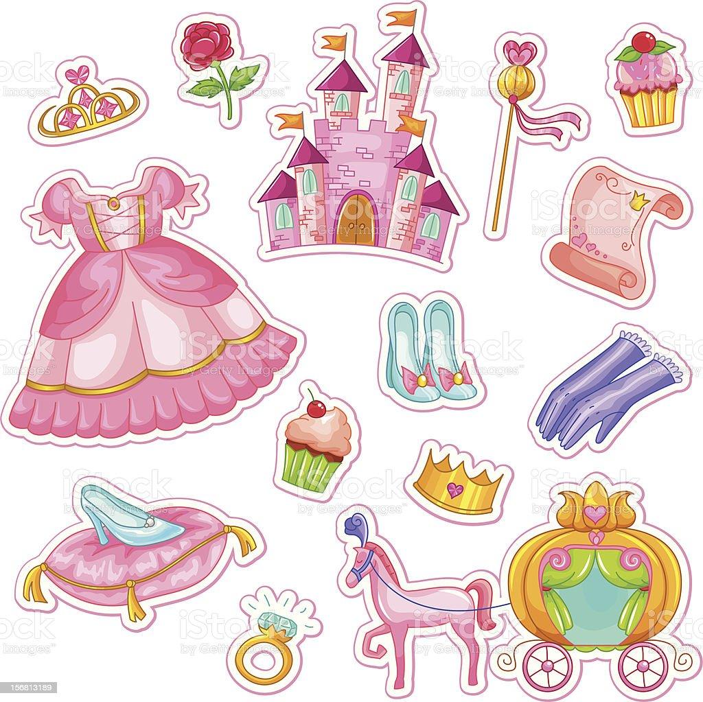 princess-Kollektion – Vektorgrafik