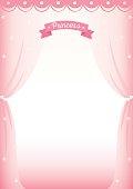 princess curtain frame template