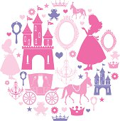 Princess Icon Set