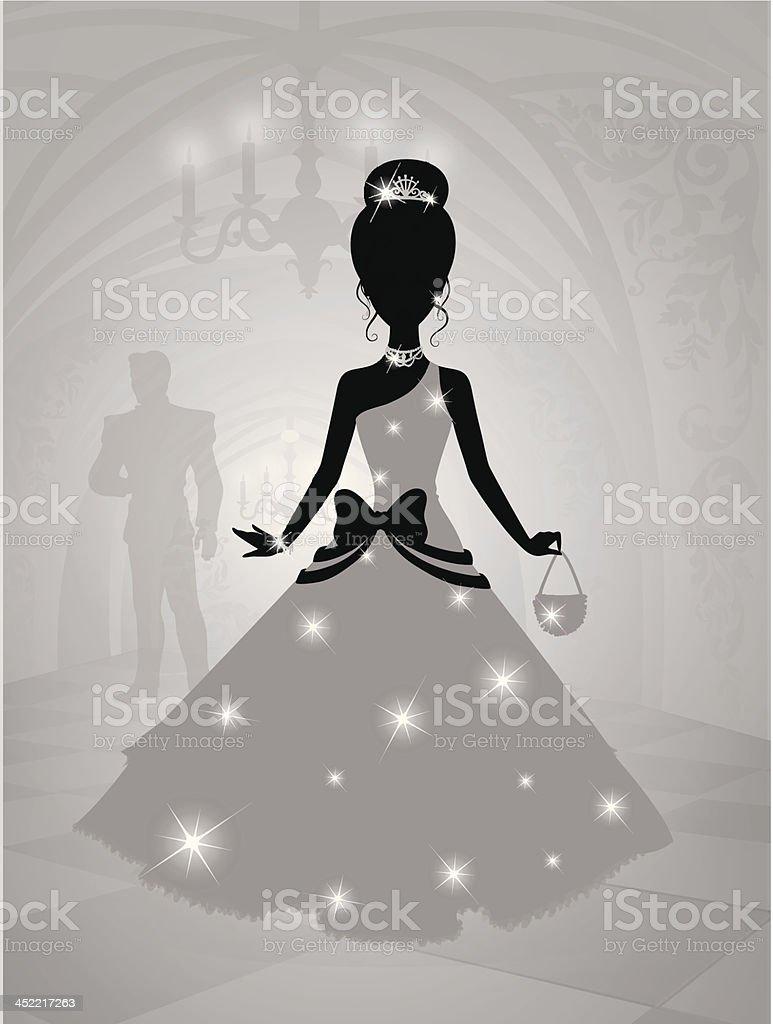 Princess. royalty-free stock vector art