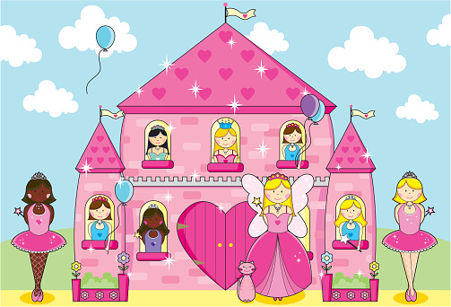 Princesses, Fairy and Ballerinas Party in Fairytale Pink Palace.