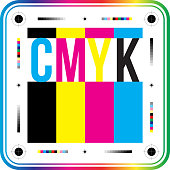 istock CMYK print colors perfect background. Cyan magenta yellow black sign. CMYK on white background. Vector. 1304068660