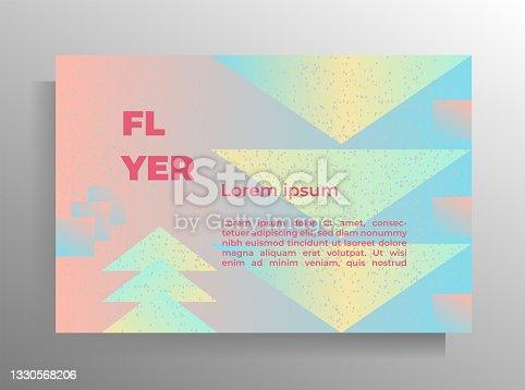 istock Print cover design template. 1330568206