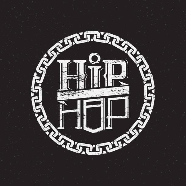bildbanksillustrationer, clip art samt tecknat material och ikoner med skriva ut på skjorta eller affisch av hip hop - hip hop poster