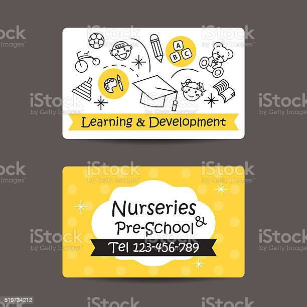 Print preview business card nursery and preschool vector id519734212?b=1&k=6&m=519734212&s=612x612&h=a62t g cj73zmz4s6qfrvtp0jntgzi0gquezf6pylfy=