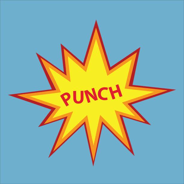 stockillustraties, clipart, cartoons en iconen met afdrukken - punch