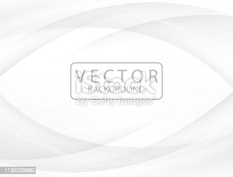 Vector illustration Gray and white abstract Soft background design