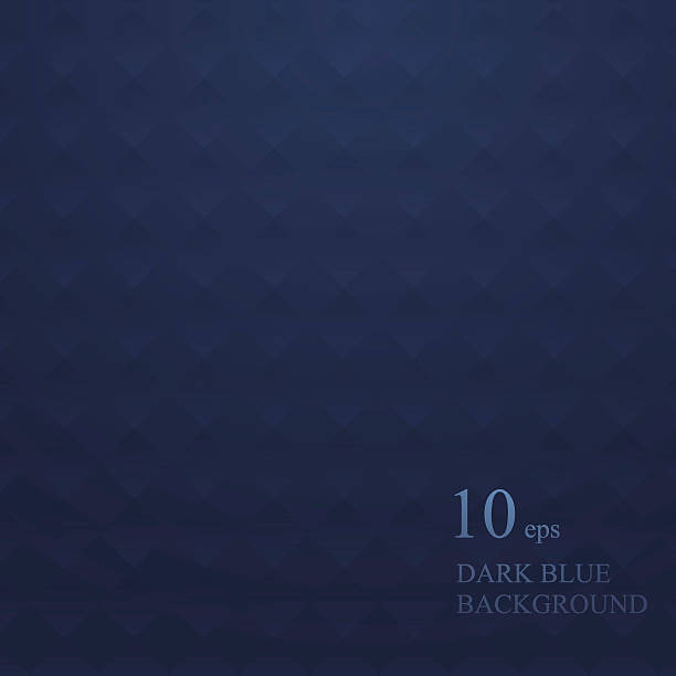 Print Blue background with geometric road texture dark blue stock illustrations