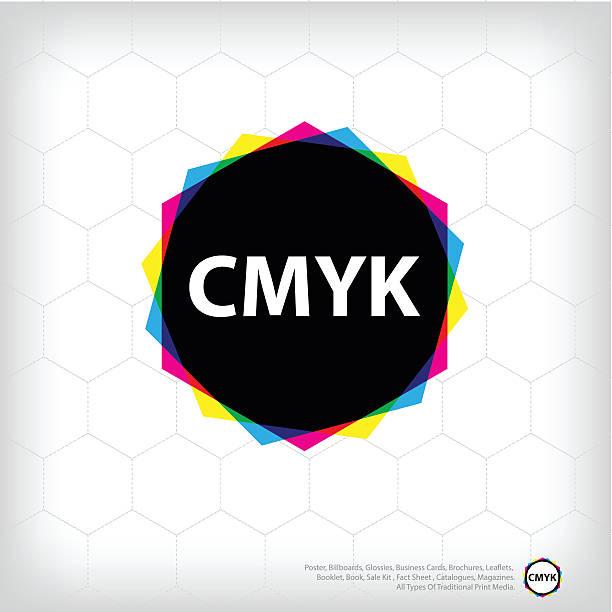 illustrazioni stock, clip art, cartoni animati e icone di tendenza di stampa - cmyk