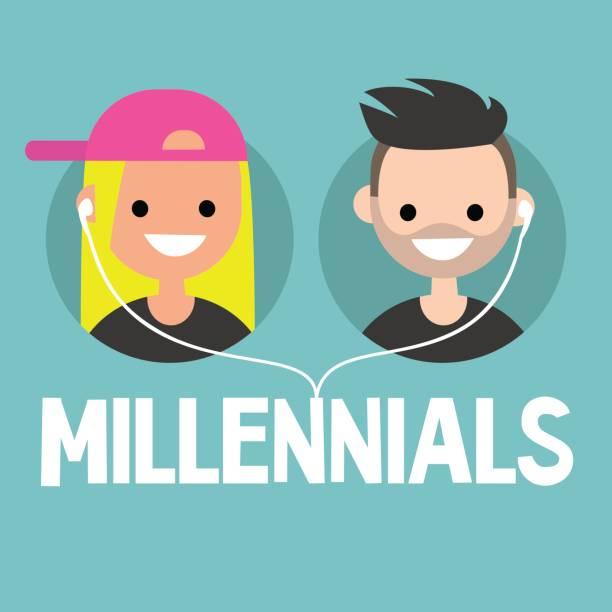 illustrazioni stock, clip art, cartoni animati e icone di tendenza di print - couple portrait caucasian