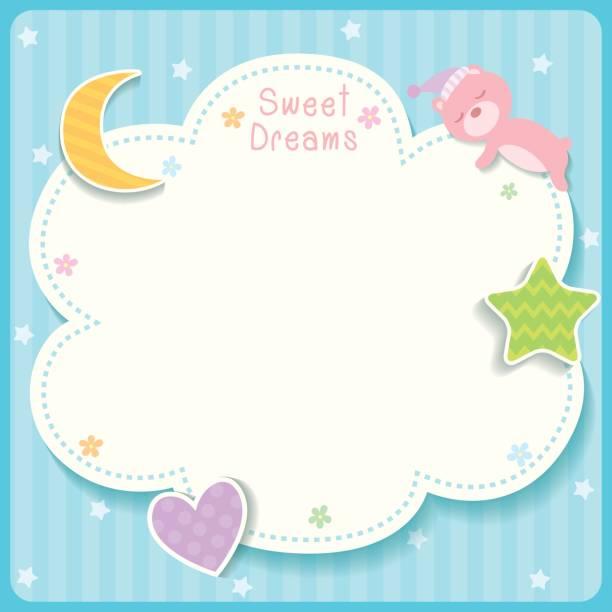 bildbanksillustrationer, clip art samt tecknat material och ikoner med skriv ut - baby sleeping