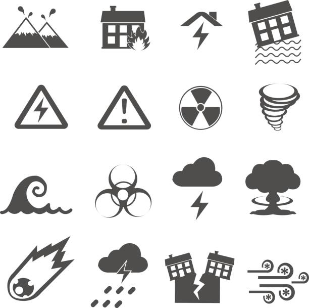 Best Flood Warning Illustrations, Royalty-Free Vector