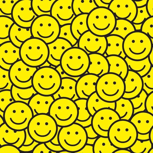 柄プリント - 笑顔点のイラスト素材/クリップアート素材/マンガ素材/アイコン素材