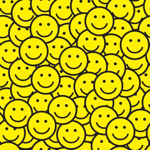 print - happy emoji stock illustrations, clip art, cartoons, & icons
