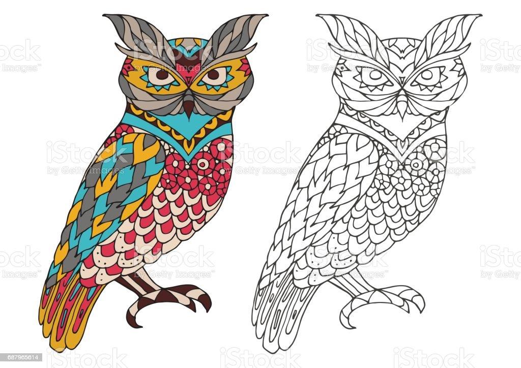 Ilustración de Libro Para Colorear Para Imprimir La Página Para ...