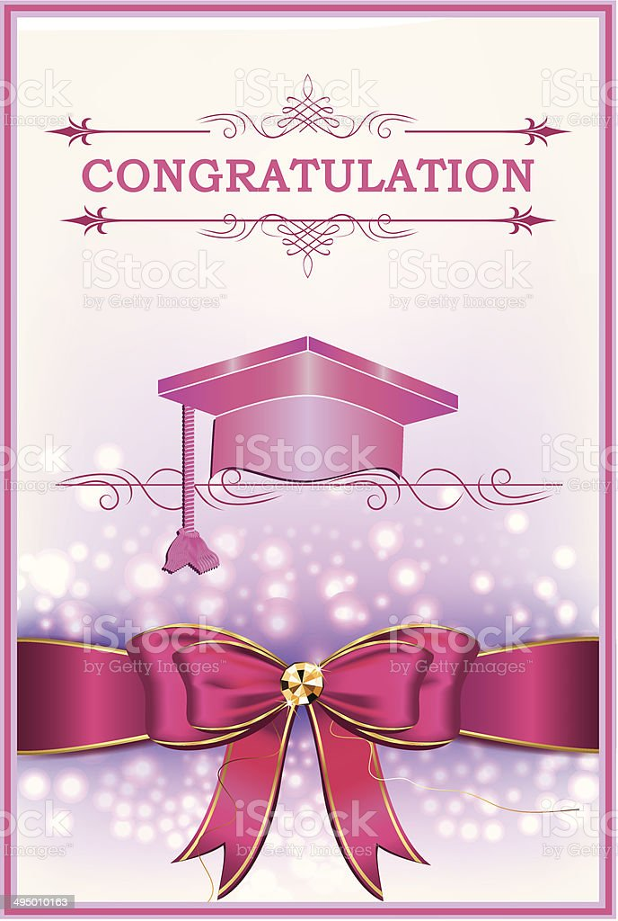 Printable graduation greeting card stock vector art more images of printable graduation greeting card royalty free printable graduation greeting card stock vector art amp m4hsunfo