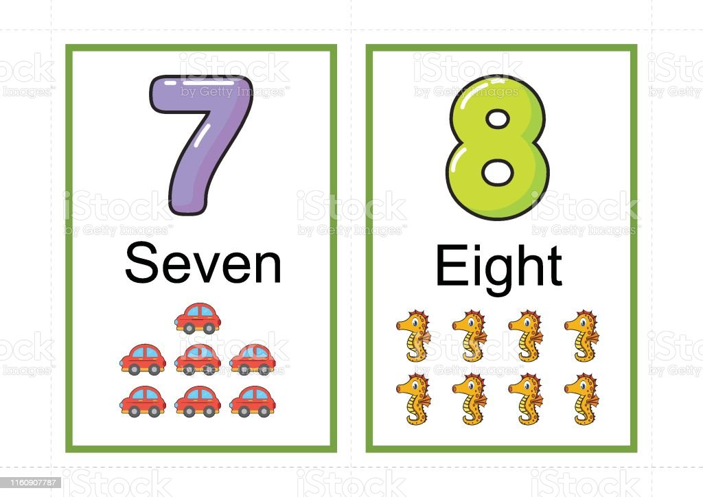photo regarding Printable Number Flashcards called Printable Selection Flashcards For Coaching Range Flashcards