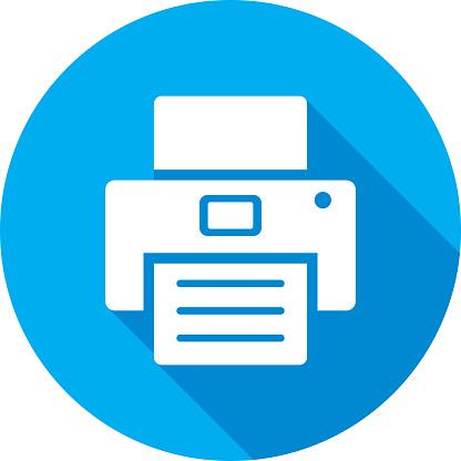Printer icon Silhouette