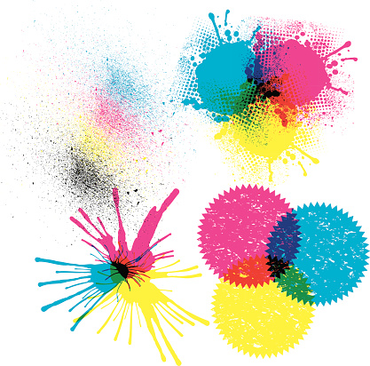 Printers Ink - CMYK Color