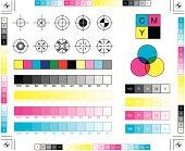 CMYK Printing Elements