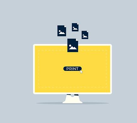 Printing Service Concept