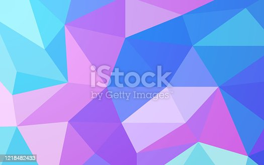 istock Prism Glass Gem Fantasy Abstract Background 1218482433
